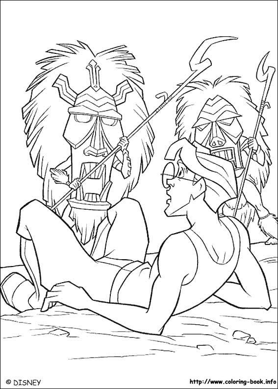 Atlantis Coloring Page 10 Is A From BookLet Your Children Express Their Imagination When They Color The