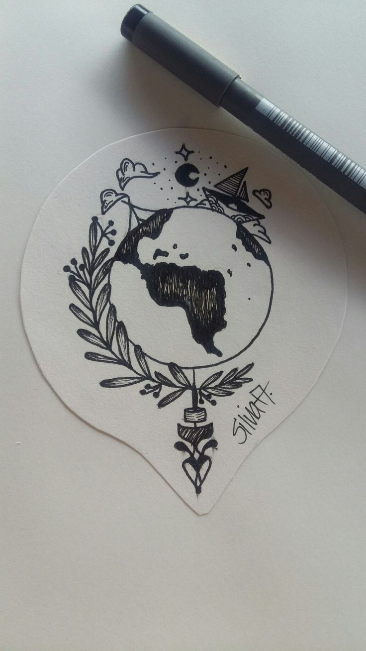 Erde/ Natur/ Spass/ Tattoo idea
