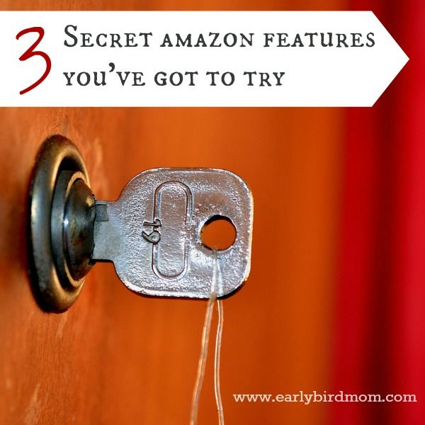 3 Secret Amazon Prime features you've got to try. I had never heard of #2!