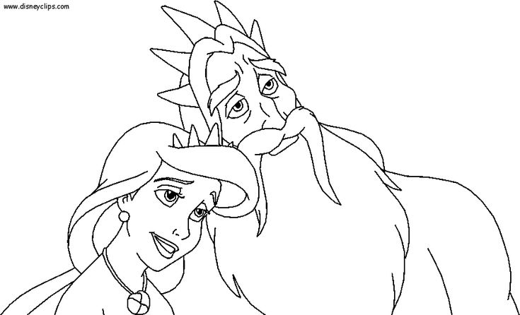 43 best Disney World-Villains Coloring Pages images on ...