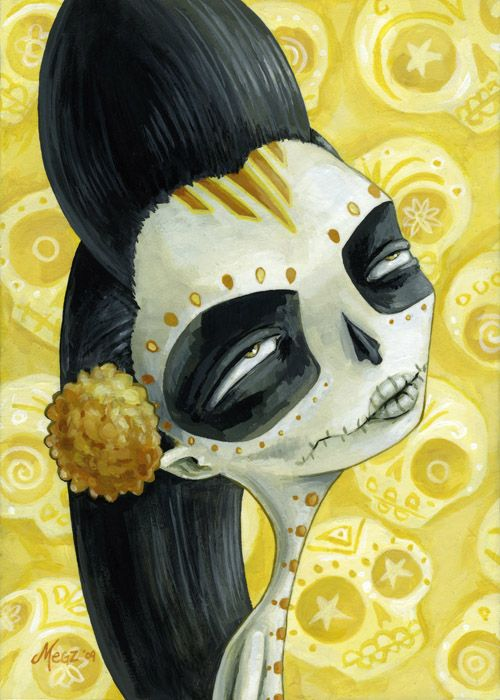 ☆ Flor de losmuertos ゝ。Artist Megan Majewski ☆
