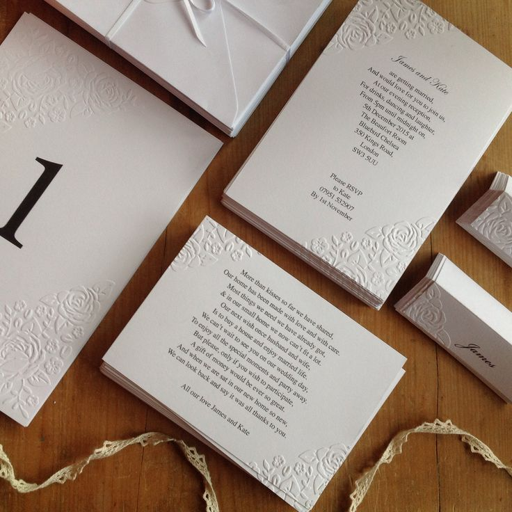 62 best Wedding Invitations images on Pinterest | Wedding stationery ...