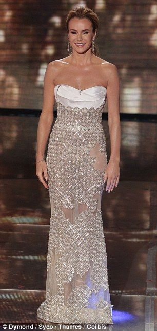 Amanda Holden ends on a demure note after a string of racy BGT outfits... and completes the look with £500k of diamonds | Daily Mail Online