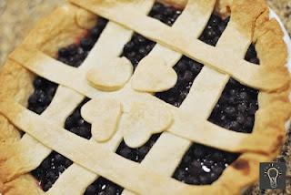 Saskatoon Berry Pie!