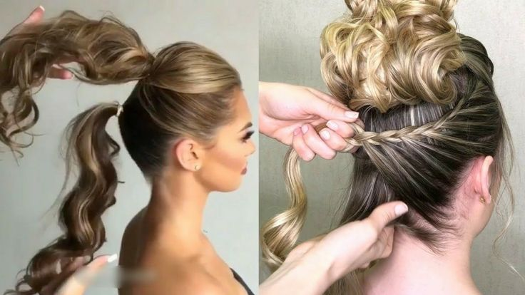 EASY HAIRSTYLES 2018: SHORT HAIR, LONG HAIR, HAIRSTYLES WITH TRENZA …