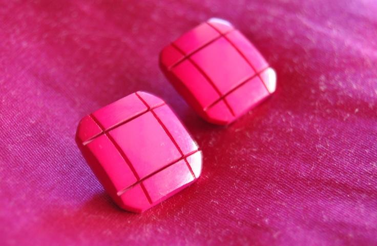 orecchini realizzati con bottoni vintage €7,00 hand made