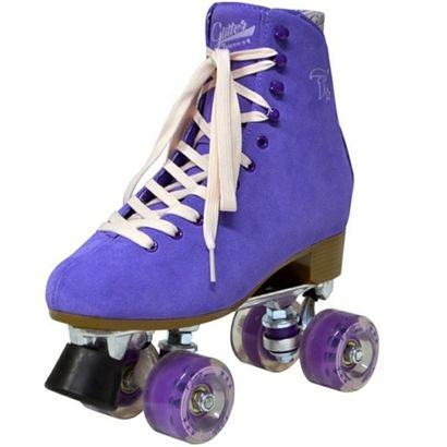 Patins Traxart Glitter Roxo | Netshoes