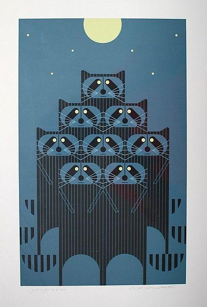 Charley Harper: Charlie Harpers, Illustration, Art, Charley Harpers, Graphics, Design, Animal, Harpers Prints, Rac Pack
