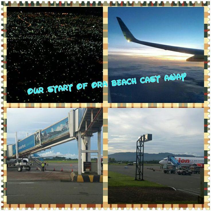 "arrival at ""Pattimura Airport"" Ambon"