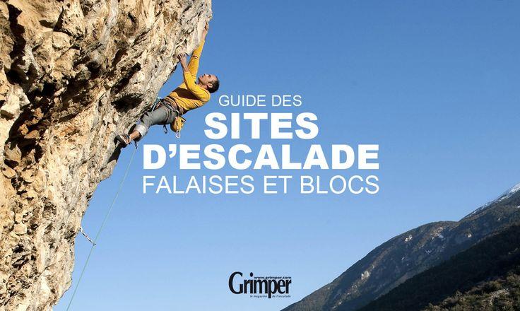 Accédez à la liste des sites d'escalade pour la pratique de l'escalade en falaise, bloc : infos voies escalade, secteurs, localisation des spots escalade