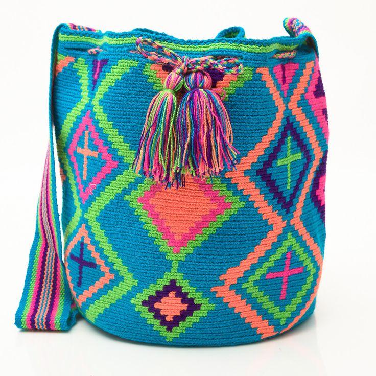 Guajira Mochila Bag – WAYUU TRIBE MOCHILA BAGS