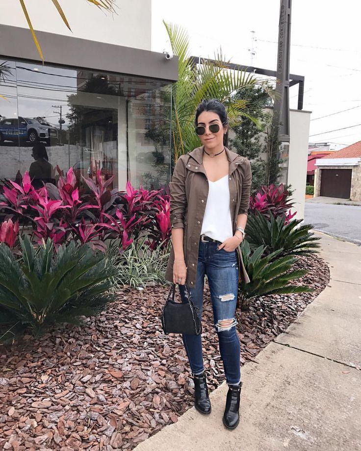 """8,502 curtidas, 107 comentários - Jessica (G) Flores (@jessicaflores) no Instagram: """"Look completo de hoje! Gostaram? ❤ #olhaomarromaí 🙈"""""""