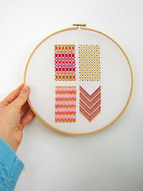 adorable embroidery from how now design