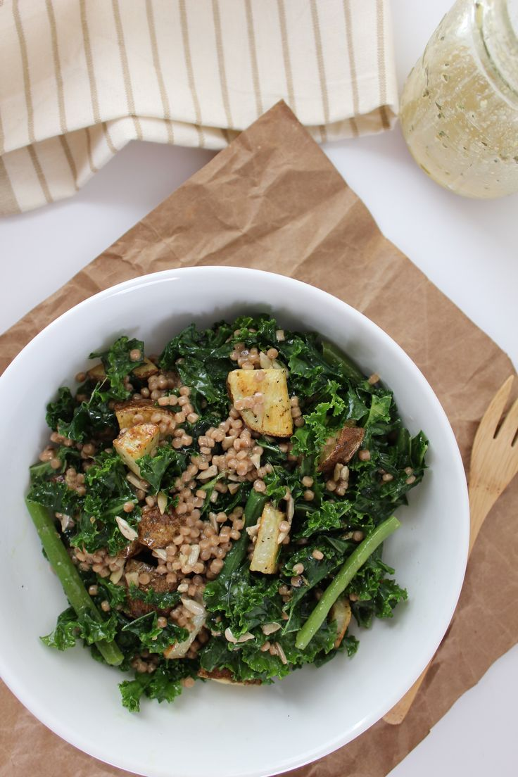 Winter Massaged Kale Bowl