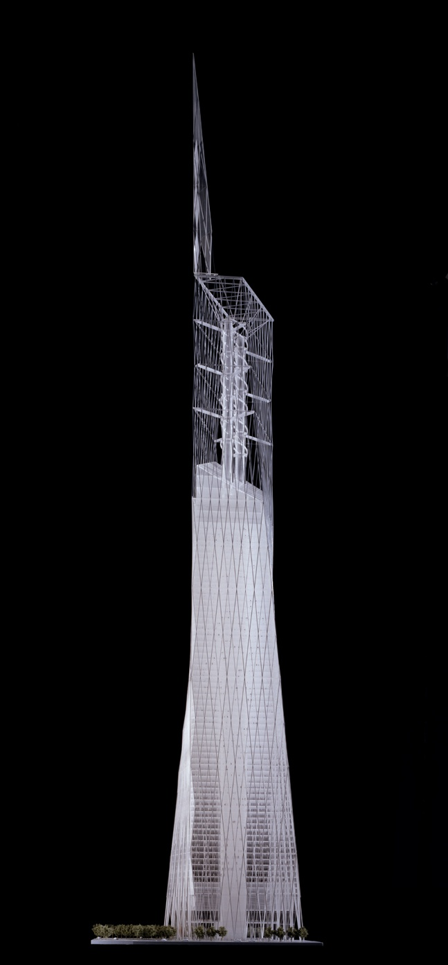 Wtc 1 daniel libeskind proposal architectural models for Daniel libeskind architectural style