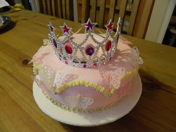 A princess themed cake I made for a work colleague's grand-daughter