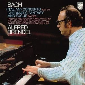 Bach: Italian Concerto And Chromatic Fantasy And Fugue - Alfred Brendel on 180g LP