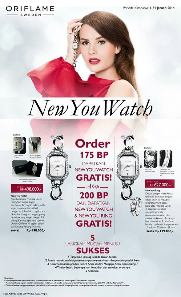 Productivity Campaign C1 2014. Oriflame Indonesia. Grab it!!