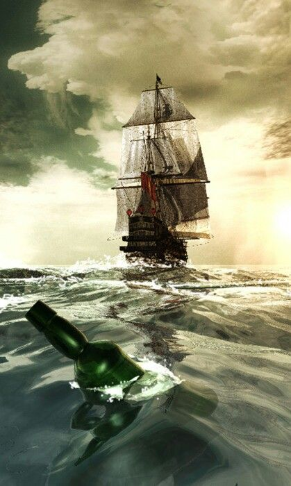 Maybe the Captain should keep a close eye on his ship and his rum....or his crew.   Just sayin!