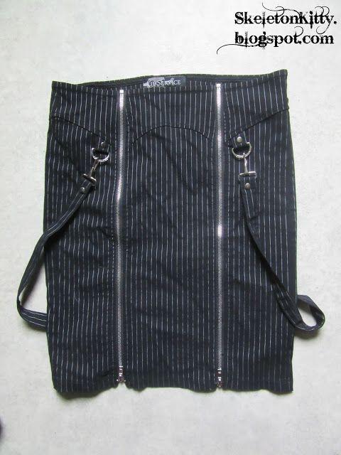 LIP SERVICE Gangsta Pranksta pencil skirt #53-3-01