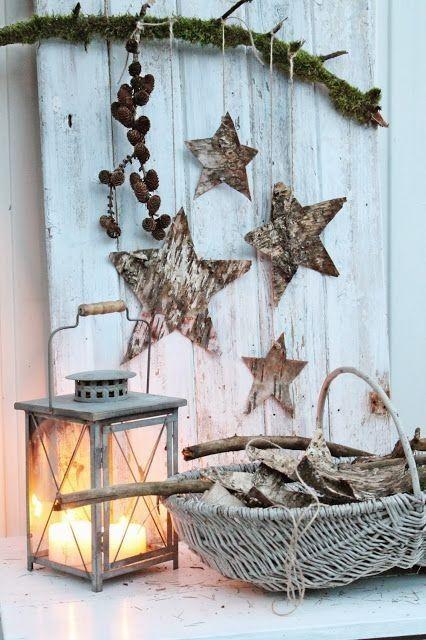 Přírodní vánoční dekorace