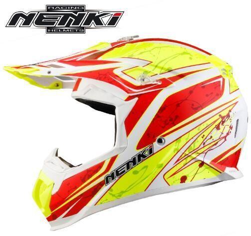 [Visit to Buy] (1pc&9colors) New Arrival ABS Material NENKI Brand Motocross Helmet Off Road Motorcycle Motocicleta Capacete Casco Helmets #Advertisement