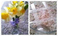 Nagy váza, kis virág