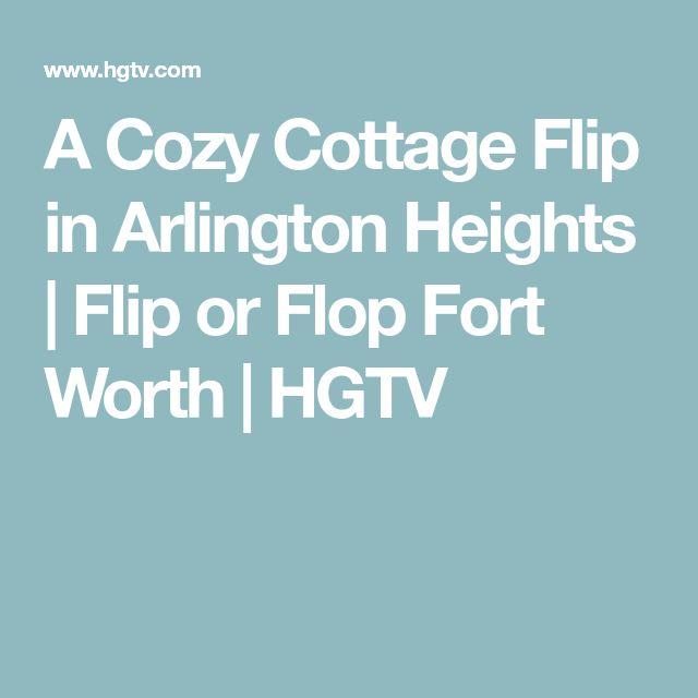 A Cozy Cottage Flip in Arlington Heights | Flip or Flop Fort Worth | HGTV