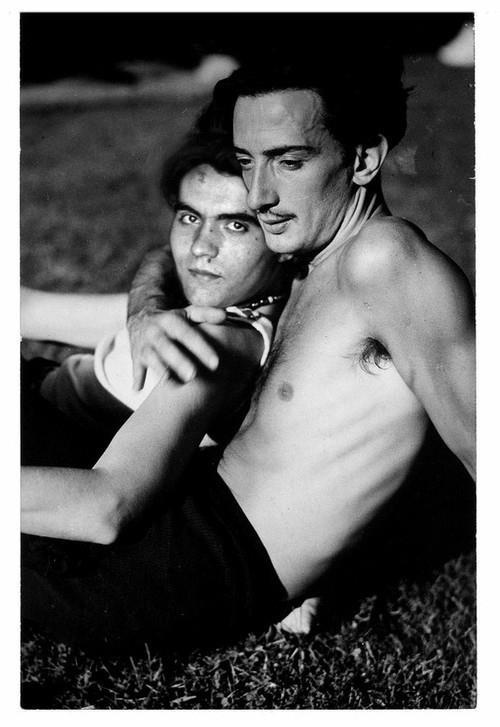 """Federico Garcia Lorca et Salvador Dali """" earth is likely the lost paradise """"..."""