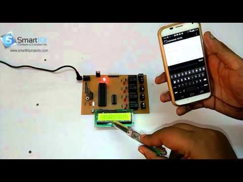 Make Home Automation Using 8051 microcontroller
