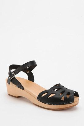 Swedish Hasbeens Ornament Laser Cut Sandal