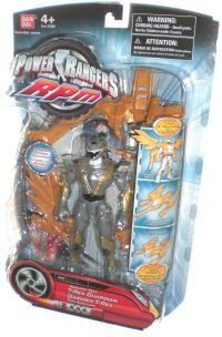 """Amazon.com: Power Ranger RPM 5"""" Guardian Figures-Auxiliary Trax Triceratops Guardian: Toys & Games"""