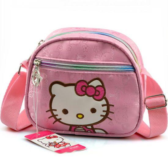 Свободного покроя сумка-мессенджер один наплечная сумка HELLO KITTY школьница сумка-мессенджер дети девочки школа сумки