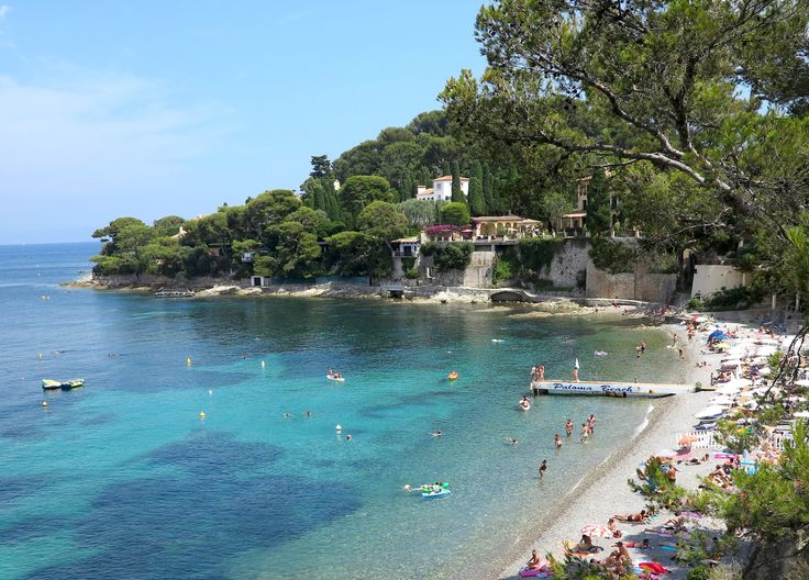 Paloma Beach on Cap Ferrat, France. Once dubbed the most exclusive place to live on the planet. Consider the surrounding hills looking on to cap ferret. Also look at the foothills of the Alps Maritime mountains in Peymeinade