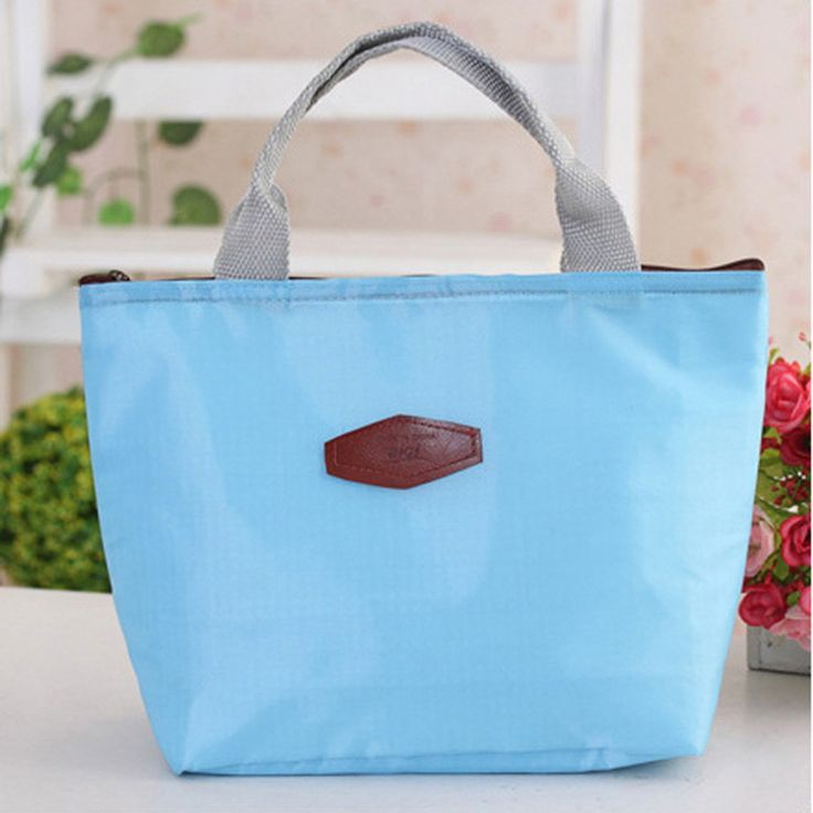 New Fashion New Thermo Thermal Insulated Neoprene Lunch Bag for Women Kids Lunchbags Tote Cooler Lunch Box Insulation Bag