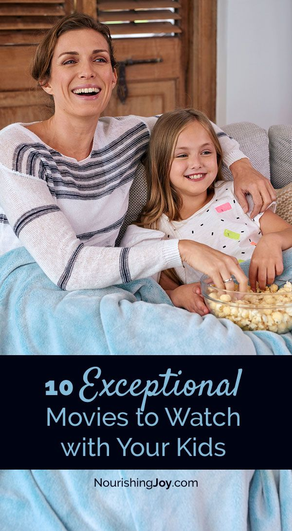 Family Movie Night is a great way to connect as a family - here are 10 EXCEPTIONAL films to share together!