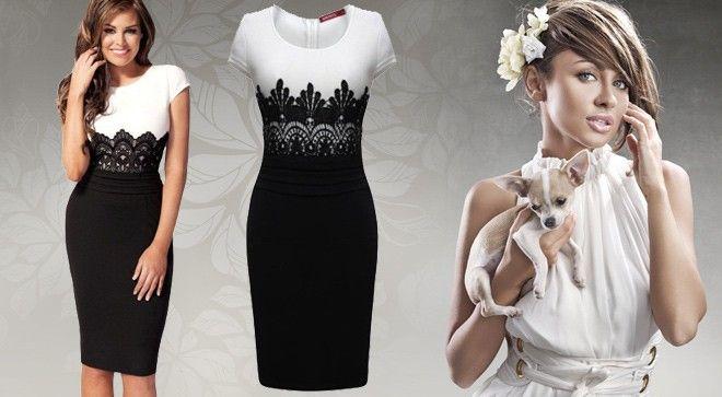 elegantní dámské šaty - Hledat Googlem
