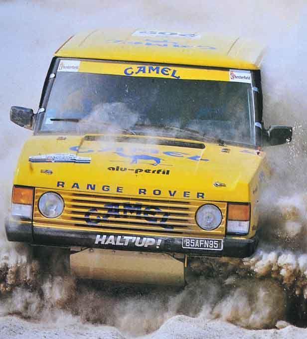 Range Rover Dakar Halt up