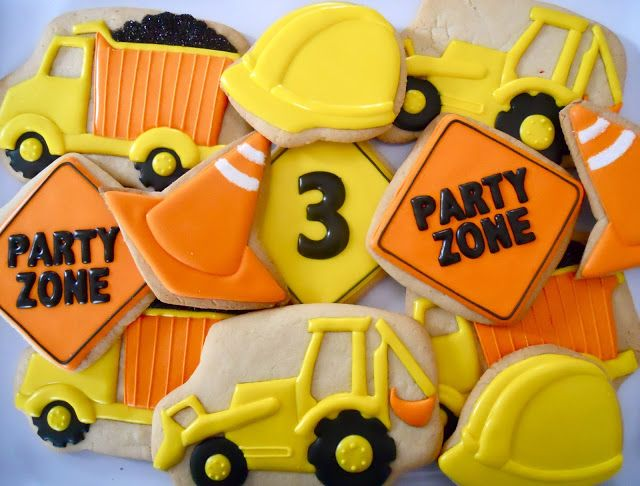 .Oh Sugar Events: Construction Cookies