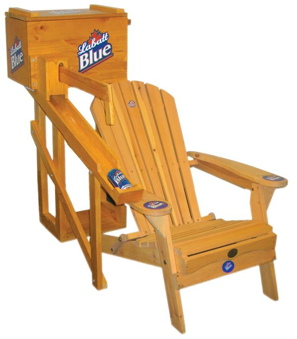 Best 25 lawn chairs ideas on pinterest adirondack chair for Wooden beer cooler plans