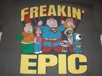 Family Guy muy 'épica Super Amigos parodia Camiseta Batman DC L-XL ...