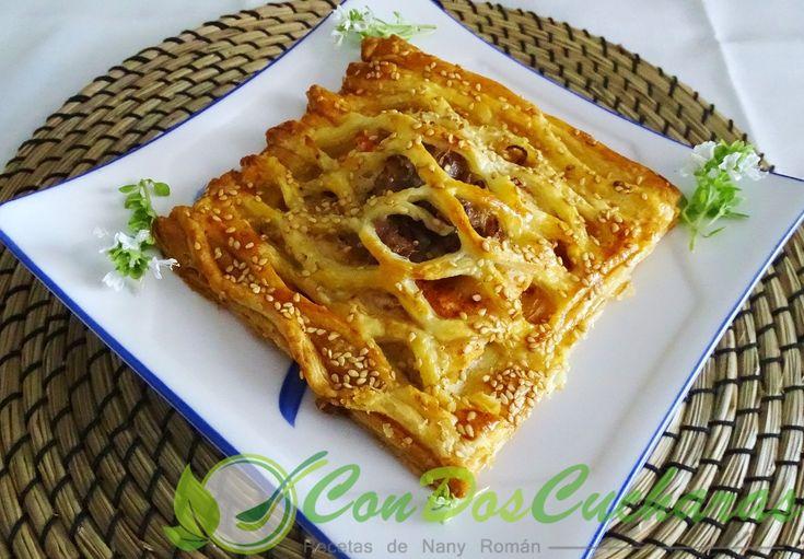 ConDosCucharas.com Merluza en hojaldre - ConDosCucharas.com