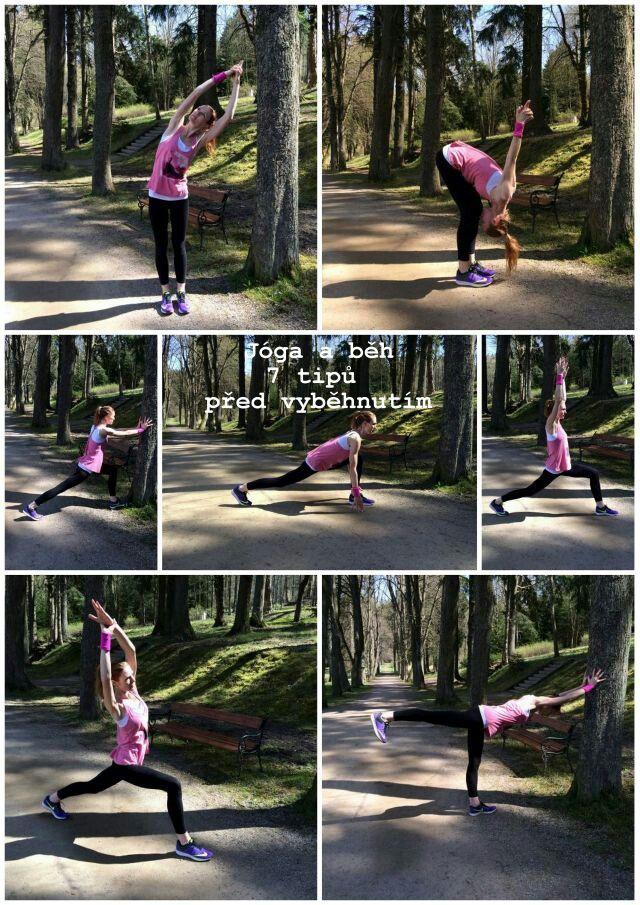 #Yoga before run  #jóga před během