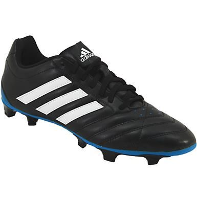 huge selection of 89e18 7b32f Adidas Goletto V FG Outdoor Soccer Cleats - Mens Black White Blue