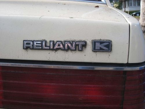 oh so epic! i want an old Reliant car and fix it up and put Relient k stickers on it! hehe!