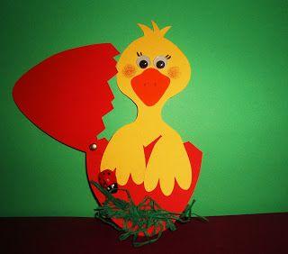 S o f i a' s K i n d e r g a r t e n: Πασχαλινή κατασκευή, αυγό με κοτοπουλάκι