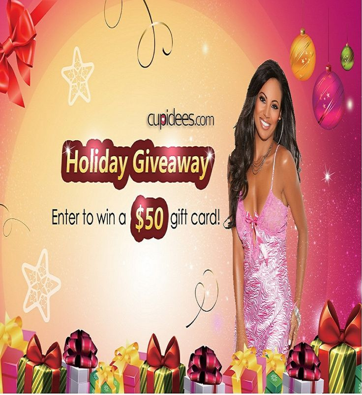 Holiday Lingerie Giveaway. Enter to WIN a $50 Gift Card.