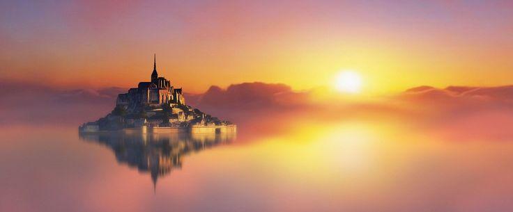 Mont Saint-Michel CREAZIONE ARTISTICA.