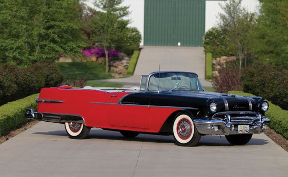 1956 Pontiac Star Chief Convertible Dream Rides
