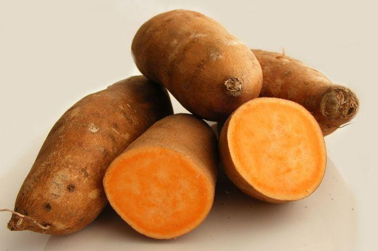 E a batata-doce-avermelhada¸ conhecida no nordeste do Brasil como coração-magoado¸ tem casca parda e polpa amarela com veios roxos ou avermelhados.Farinha de batata-doce e os tipos de batata | Doctor Berger do Brasil